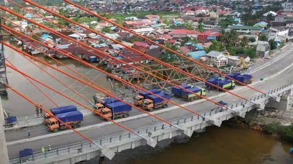 JANGAN Ada Pengecualian, Armada Elpji dan BBM Harus Bisa Pula Melintas di Jembatan Sungai Alalak