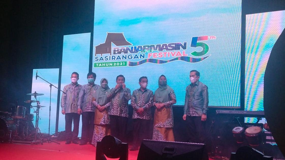 MERIAH Opening Ceremony Banjarmasin Sasirangan Festival. ke-5