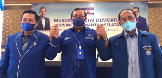MUSDA USULKAN H Ibnu Sina dan Rusian ke DPP untuk Jadi Ketua DPD Demokrat Kalsel