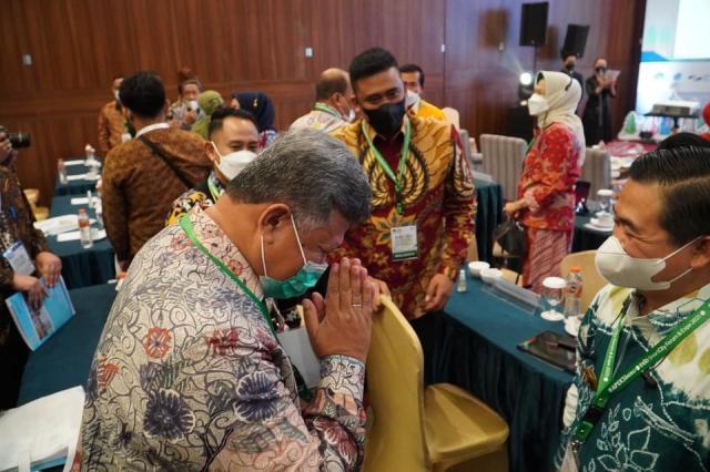 WALIKOTA Ibnu Sina, Arya Bima dan Luhut di Pembukaan ISCFE (2)