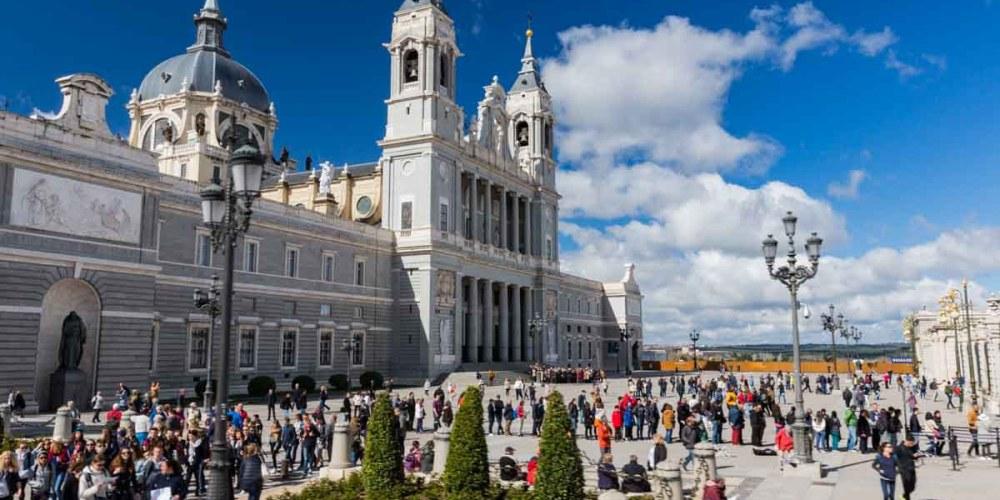 Palacio Real em Pontos Turísticos em Madri