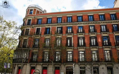 Bela Construção em Madri