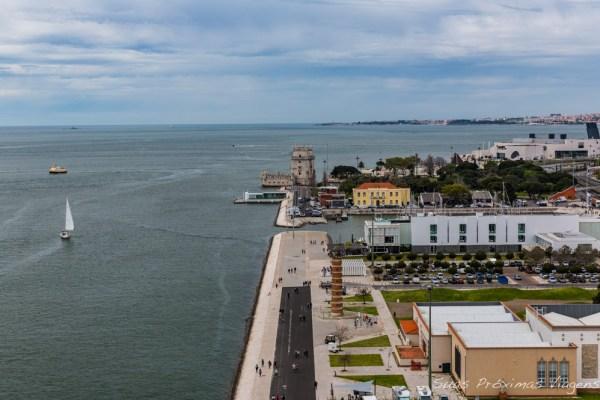 Rio Tejo em Lisboa - Portugal
