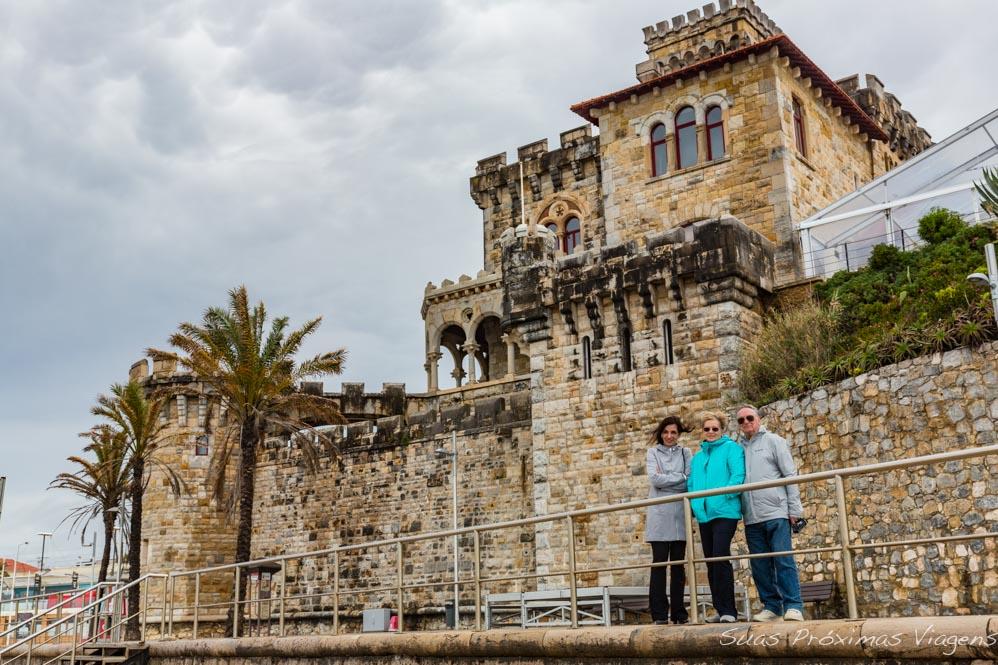 Castelo na Praia de Tamariz