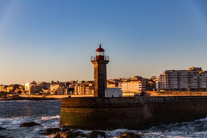Farol de Felgueiras em Porto