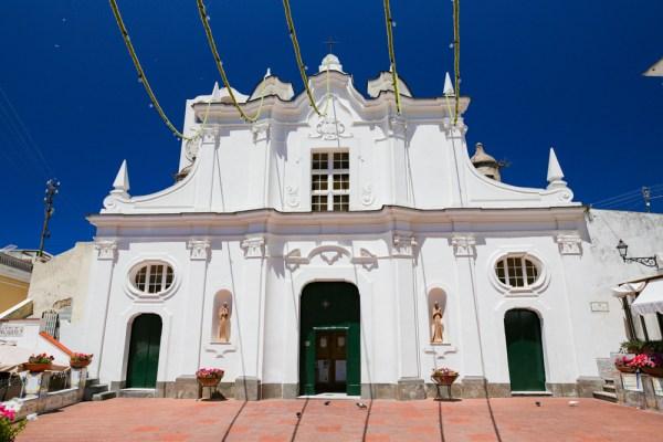 A Igreja de Anacapri