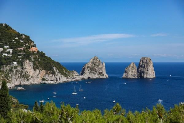 Faraglionis em Capri