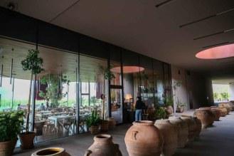 restaurante na Antinori das Vinícolas da Toscana