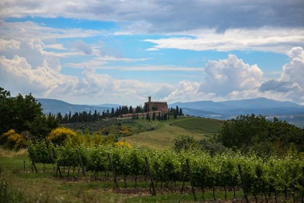 Castelo de Banfi, umas das Vinícolas da Toscana