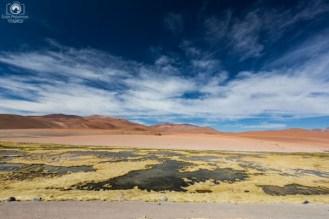 Vista do Mirador Quebrada Quepiaco a caminho do Salário de Tara Turismo Atacama