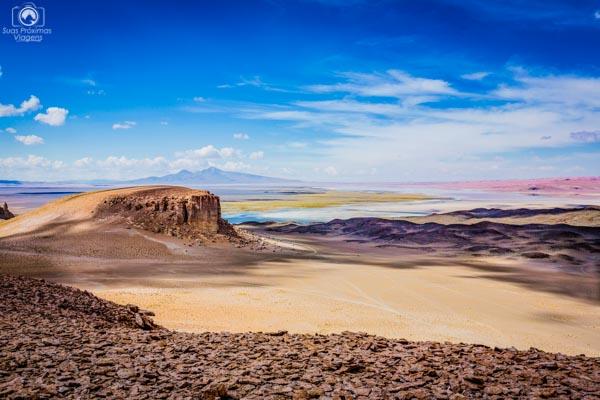 Catedrais do Salar de Tara nas imagens do Deserto do Atacama