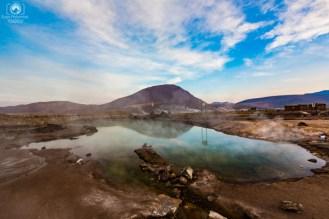 Termas nos Geysers del Tatio em o que fazer no Chile