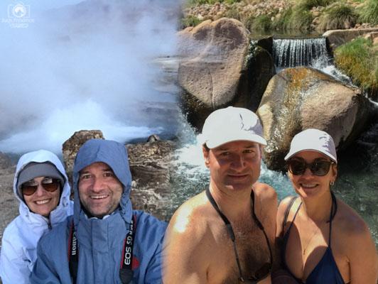 Roupas para muito frio e muito calor são necessárias no Atacama