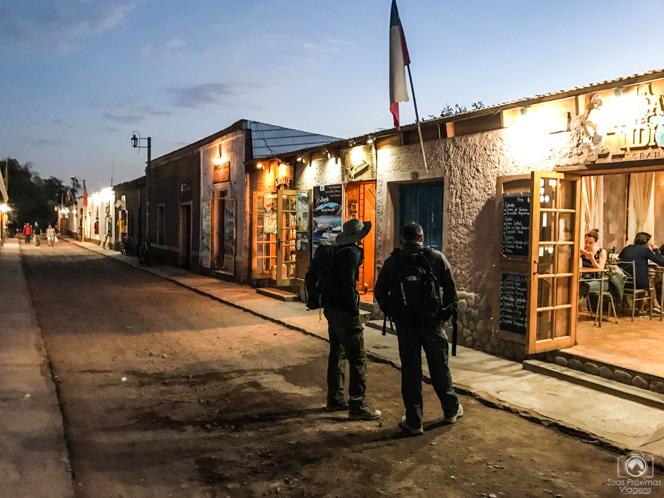 Caracoles à Noite em San Pedro de Atacama