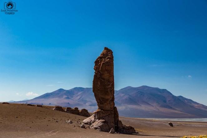 Monjes de La Pacana no Salar de Tara do Deserto do Atacama