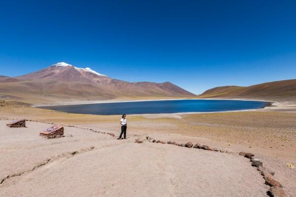 Laguna Miñiques uma das Lagunas Altiplânicas