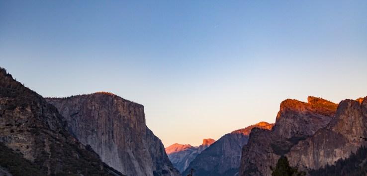 El Capitan no Parque Yosemite