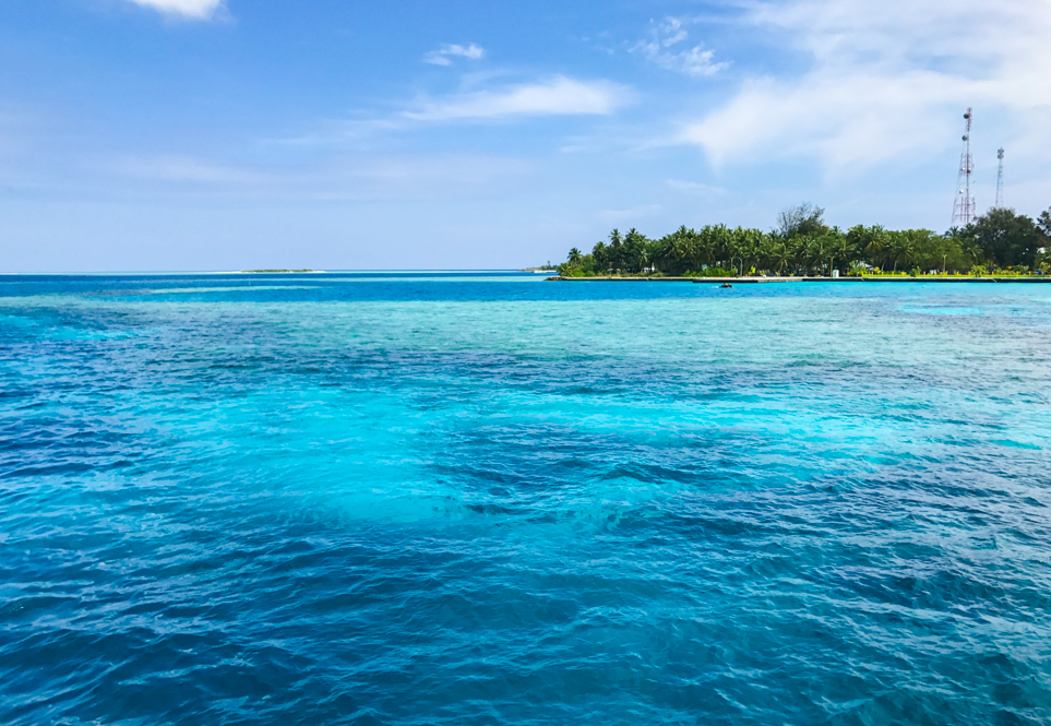 Vista do Mar nas Ilhas Maldivas