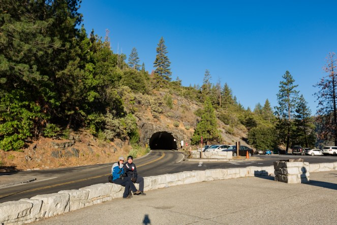 Mirante Tunnel View no Parque Nacional Yosemite