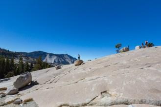Outro ponto no Sentinel Dome no Parque Nacional Yosemite