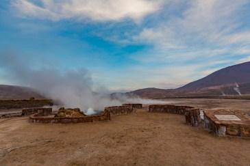Geysers del Tatio no Atacama