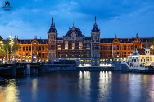Estação Central Amsterdam