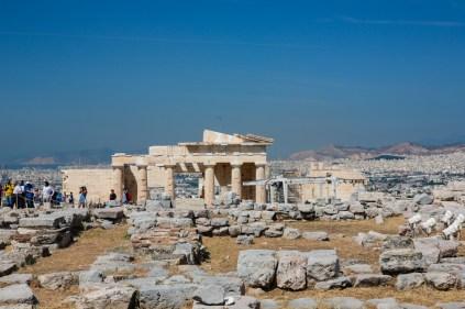 Vista das Ruínas de Acrópole
