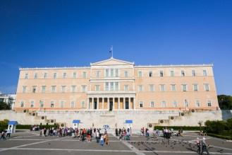 Parlamento Grego em Atenas