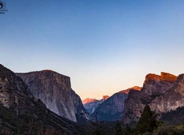 El Capitan no Parque Nacional de Yosemite