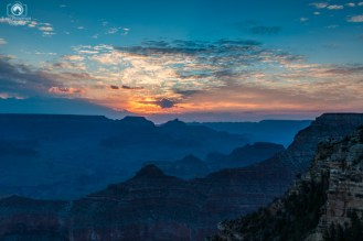 Yavapai Point Sunrise no Grand Canyon