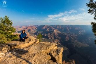 Admirando a Golden Hour no Parque Grand Canyon