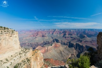 Uma vista do Parque Grand Canyon
