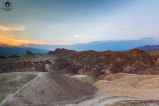 Zabriskie Point no Parque Nacional Death Valley California