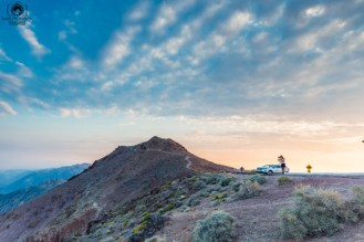 Sunrise Dante's View no Death Valley California