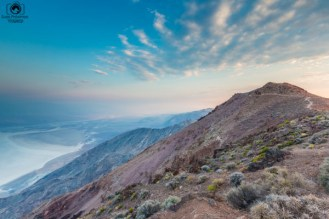 Sunrise Dante's View no Vale da Morte Califórnia
