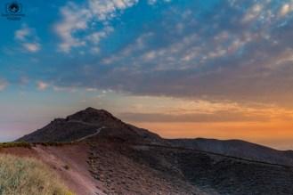 Sunrise Dante's View no Death Valley EUA
