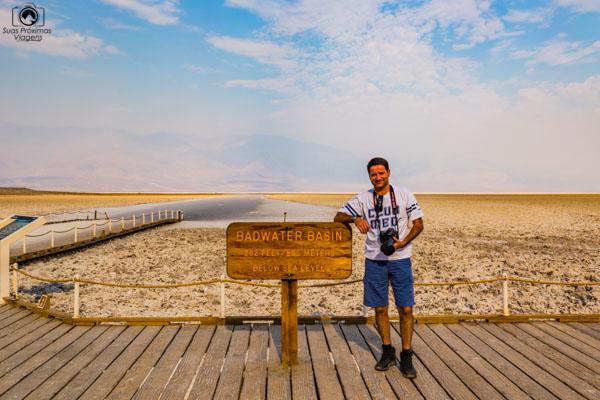 Badwater Basin no Parque Nacional Death Valley