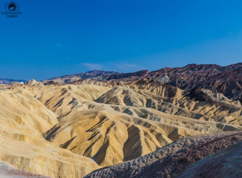 Zabriskie Point no Death Valley California