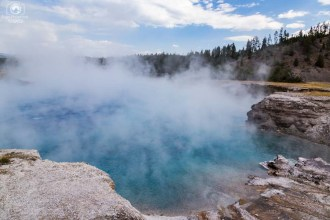Fontes Termais em Yellowstone Park