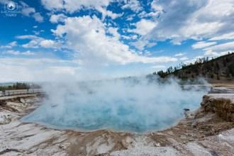 Fontes Termais em Yellowstone Parque