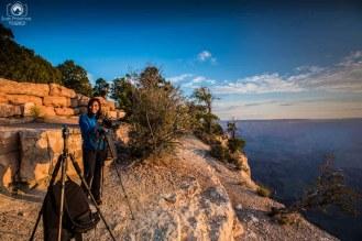 Yavapai Point no Grand Canyon