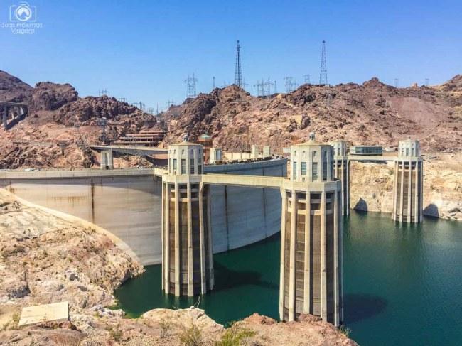 Hoover Dam no passeio desde Las Vegas