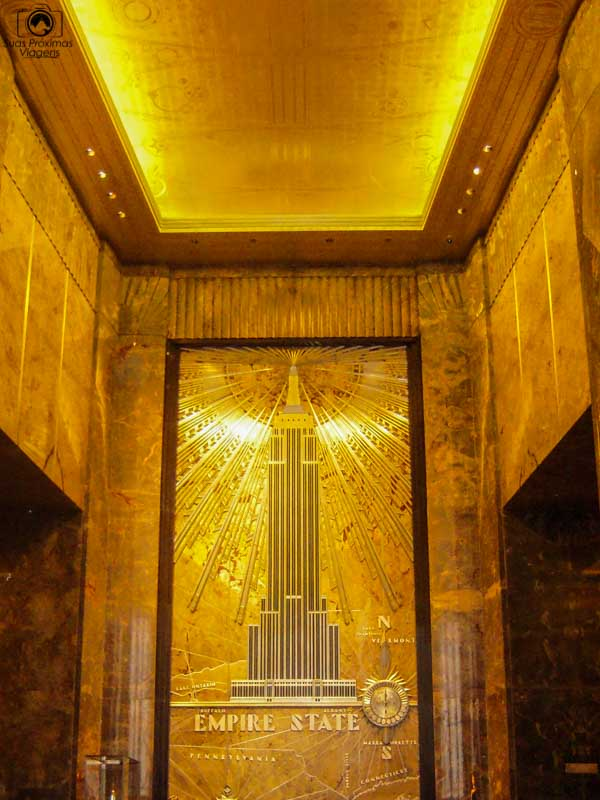 Entrada do Empire State Building em Nova York