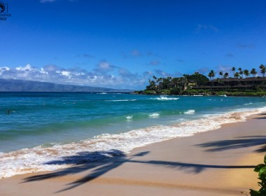 Vista da Praia de Napili nas Melhores Dicas do Havaí