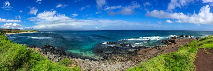 Hookipa Lookout em Maui no Havaí