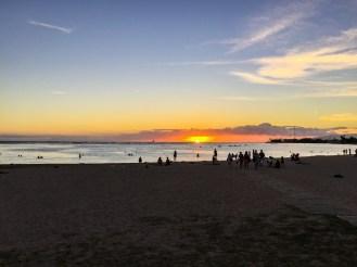 Pôr do Sol em Honolulu Oahu