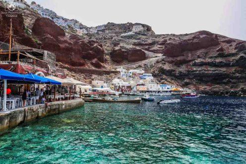 Porto Amoudi - Viagem para Santorini