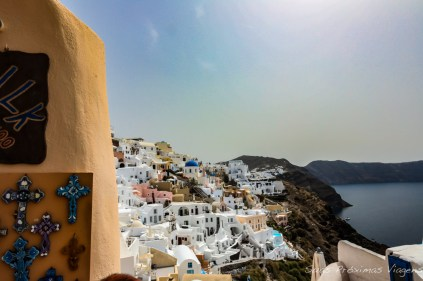 Vista de Oia - O que fazer em Santorini