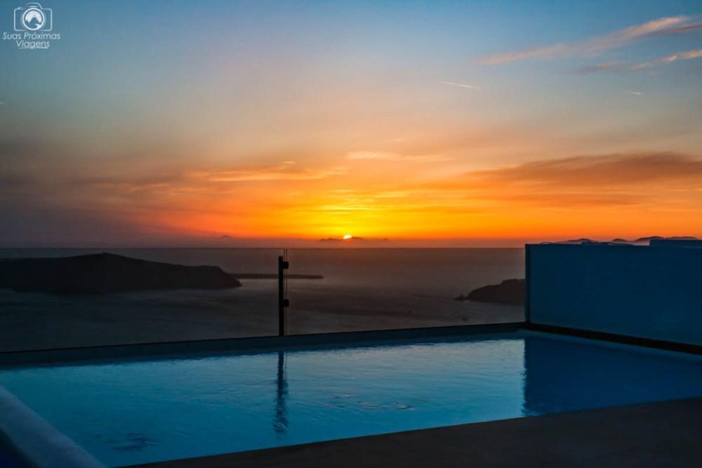 Pôr do Sol em Imerovigli - O que fazer em Santorini