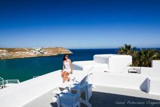 Vista desde a varanda da suite no Pietra e Mare